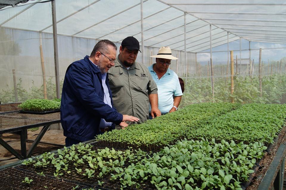 El presidente de la institución Óscar Enrique Guardado, realizó una visita de campo para constatar propiedades del ISTA que han estado mal utilizadas.