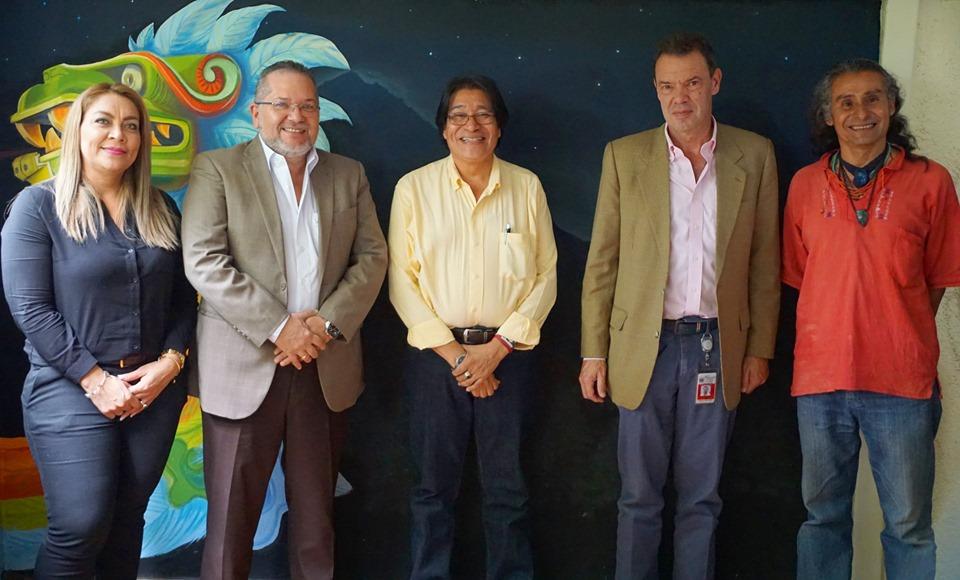 El presidente de la institución, Óscar Enrique Guardado, sostuvo una reunión con Óscar Avalle, representante del Banco Mundial y con Amadeo Martínez coordinador general del Foro Indígena de Abya y miembro del Consejo Coordinador Nacional Indígena Salvadoreño (CCNIS).