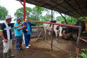 Visitamos las Cooperativas El Nilo y Santa Rita