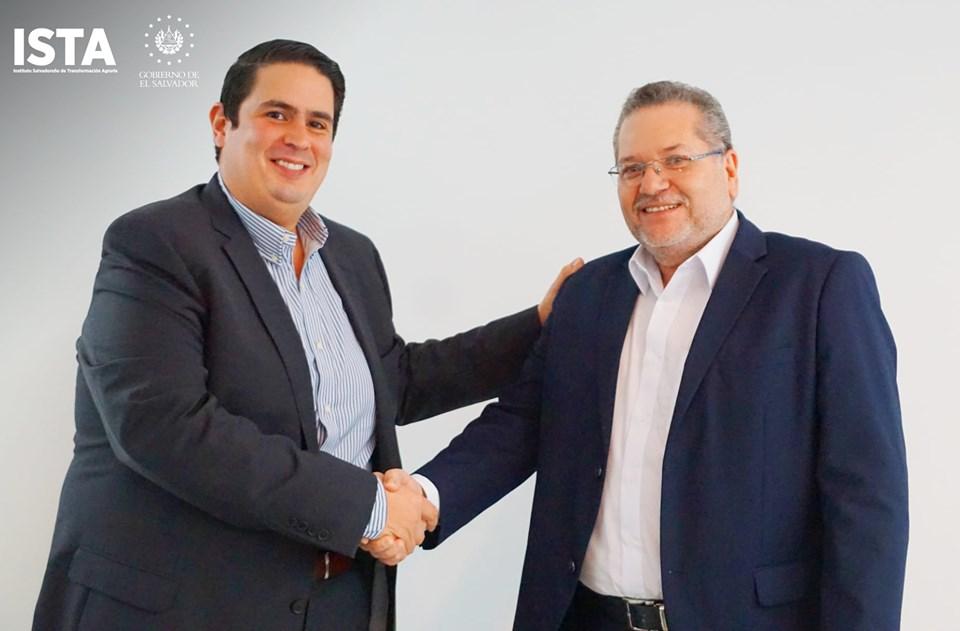 El presidente de la institución, Óscar Enrique Guardado, se reunió con Daniel Álvarez, presidente de CEL