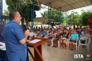 Entregamos escrituras en el municipió de San Julián