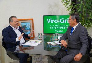 Entrevista en el programa Conversando con Alfredo Villarreal