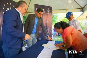 En la Hacienda Rancho Tatuano seguimos con las jornadas de firma y entrega de escrituras