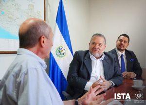 Nos reunimos con el Coordinador de la Cooperación El Salvador-Luxemburgo