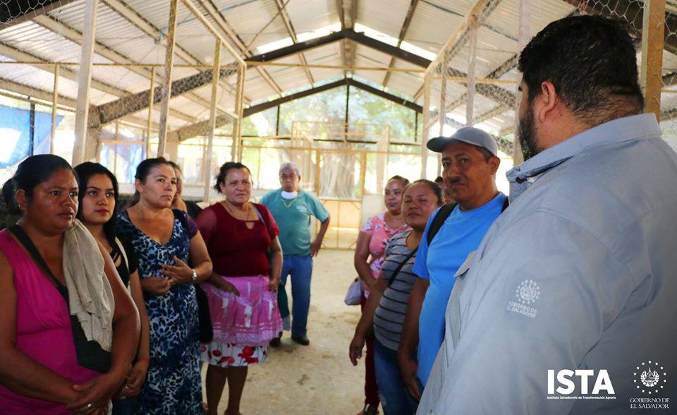 Desarrollamos una jornada práctica de capacitación a representantes de comunidades rurales