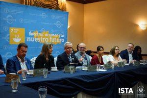 """El presidente institucional, Óscar Guardado, se hizo presente al conversatorio denominado """"Los Retos del Desarrollo Rural""""impulsado por la FAO"""
