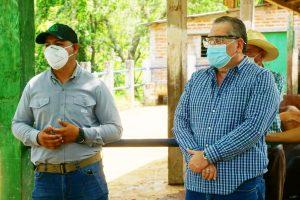 Visita de presidente ISTA en apoyo a la Cooperativa Plan de Amayo, Sonsonate